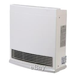10,000 BTU Propane Gas Vent Free Fan Convector Indoor Heating Convection Heater
