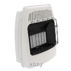 18,000 btu infrared vent free natural gas wall heater dyna-glo ir18nmdg-1 home