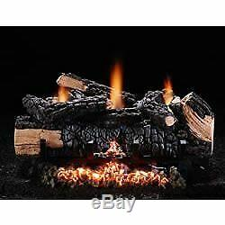 18 Cumberland Char Vent-Free Log Set Natural Gas