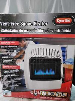 20,000 BTU Vent Free Natural Gas Blue Flame Wall Heater by Dyna-Glo