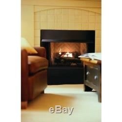 24 Vent Free Natural Gas Fireplace Logs Thermostatic Control Ventless Heating