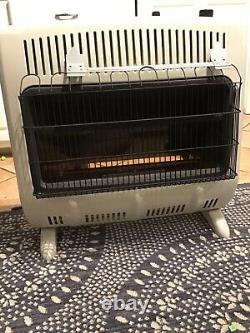 30000 BTU Dual Fuel Vent Free Radiant Floor Wall Heater Home Lodge Cabin Warmer