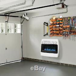30,000 BTU Natural Gas Blue Flame Vent Free Wall Heater