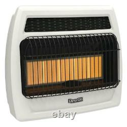 30,000 BTU Vent Free Infrared Natural Gas Thermostatic Wall Heater by Dyna-Glo