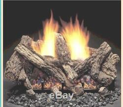 30 MONESSEN KENTUCKY STACK VENT FREE GAS LOGS With 24 NATURAL BURNER LOW PRICE