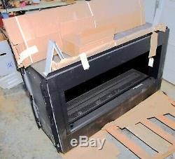 Astria Paris lights 43 natural gas vent free fireplace see thru transformable