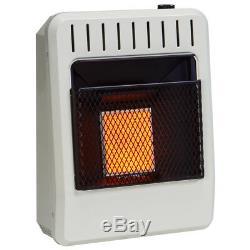 Avenger FDT1IRA 10000 BTU Dual Fuel Vent Free Infrared Gas Heater, Ventless