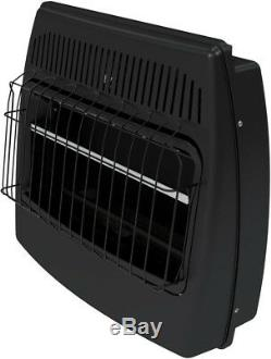 Blue Flame Vent Free Dual Fuel Gas Propane Garage Heater 30000 BTU with Thermostat