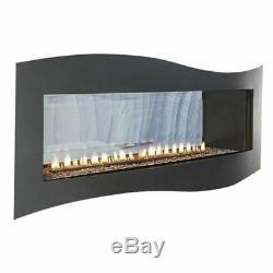 Boulevard IP Contemporary See-Through Vent-Free 36k BTU Fireplace NG