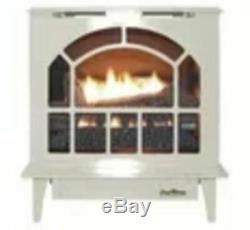 Buck Stove Hepplewhite Vent-Free Steel Gas Stove in Almond NG