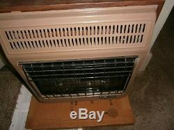 COMFORT GLOW Vent Free Ventless Blue Flame Natural Gas Wall Heater CGN18TB