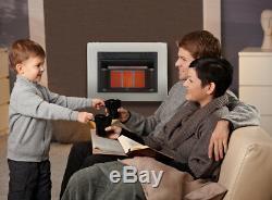 Cedar Ridge Recon Dual Fuel Vent Free Gas Heater With Blower, Ventless, 20K BTU