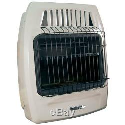 Comfort Glow KWD259 20,000 Btu (LP) & (NG) Vent Free Wall Heater Beige