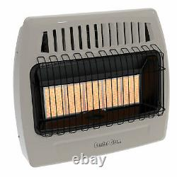 Comfort Glow KWP522 30,000 Btu 5 Plaque Propane Infrared Vent Free Wall Heater