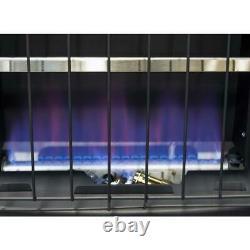 Convection Heater 20000BTU Natural Gas Liquid Propane Vent Free Wall Floor Mount