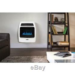 Dyna-Glo 20,000 BTU Blue Flame Vent Free Natural Gas Thermostatic Wall Heater