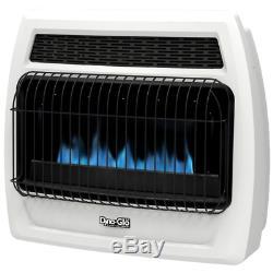 Dyna-Glo 30,000 BTU Blue Flame Vent Free Liquid Propane Thermostatic Wall Heater