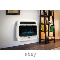 Dyna-Glo 30,000 BTU Blue Flame Vent Free Natural Gas Thermostatic Wall Heater