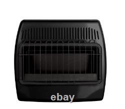 Dyna-Glo 30,000 BTU Blue Flame Vent-Free Thermostatic Garage Heater, Black