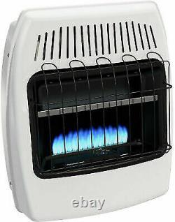 Dyna-Glo BF20NMDG 20,000 BTU Blue Flame Vent Free Gas Heater White