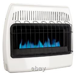 Dyna-Glo Gas Wall Heater 30000 BTU Vent Free Liquid Propane Blue Flame