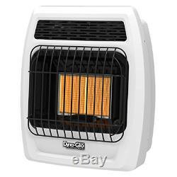Dyna-Glo IRSS12LPT-2P 12000 Btu LP Infrared Vent Free T-Stat Wall Heater