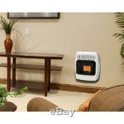 Dyna-Glo Infrared Heater Liquid Propane Wall Mount Heating 6,000 BTU Vent Free