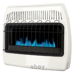 Dyna-Glo LP 30,000 BTU Vent Free Natural Gas Blue Flame Wall Heater