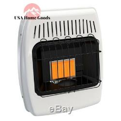 Dyna-Glo Liquid Propane Infrared Vent Free Heater 6,000 BTU Gas IR6PMDG-1