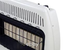 Dyna-Glo Space Heater 30,000 BTU Infrared Vent Free Liquid Propane LP Wall Mount