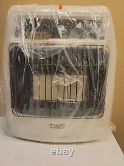 Dyna Glo Thermostatic Wall Heater Vent Free Liquid Propane Infrared 18,000 BTU