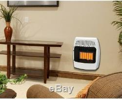 Dyna-Glo Wall Heater 18000 BTU Infrared Vent Free Natural Gas Variable Knob
