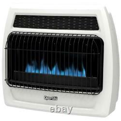 Dyna Glo Wall Heater 30000 BTU Un vent Natural Gas Blue Flame Warm Home 1000sqft