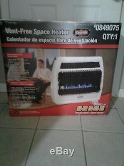 Dyna-glo Dual Fuel Blue Flame Vent Free Space Heater Floor/Wall Mount30,000 BTU
