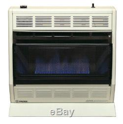 Empire BF-30W-LP 30,000 BTU Blue Flame Vent-Free Gas Heater Liquid-Propane LP