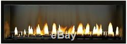 Empire Boulevard 48 Vent-Free Linear Fireplace VFLB48 with Remote- Electronic Ign