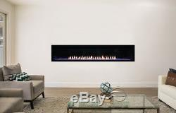 Empire Boulevard Vent Free 72 inch GAS Fireplace Propane Or Natural Gas
