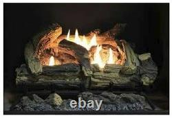 Empire Comfort 18 Kennesaw Logset with Millivolt Vent Free Burner- Natural Gas