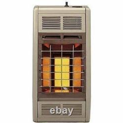Empire Infrared Heater Liquid Propane 6000 BTU, Manual Control
