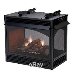 Empire Premium 36 Vent-Free See Thru MV Fireplace Natural Gas