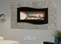 Empire VFLL-38-FP90L25N 38 Boulevard Linear Vent-Free Fireplace Natural Gas