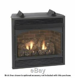 Empire Vail 36 Millivolt Vent-Free Premium Fireplace Natural Gas
