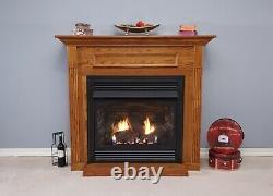 Empire White Mountain Vail Vent Free Fireplace Premium 32 Millivolt Natural Gas