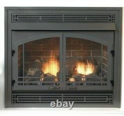 Empire White Mountain Vail Vent Free Fireplace Premium 32 Thermostat Natural Gas