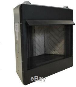 Fireplace Insert 42 in. Firebox Vent-Free Dual Fuel Natural Gas Liquid Propane