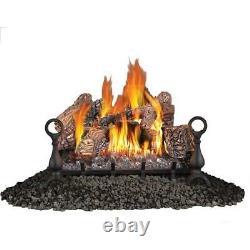 Fireplace Napoleon Vent Free 24 Natural Gas 6 Pc Logs Set FCP16846