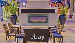 Fmi Berlin Lights 43 Linear Outdoor Vent Free Fireplace Lvfo43ne Natural Gas