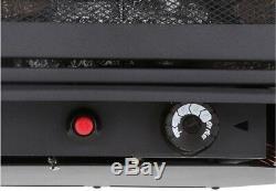Freestanding Dual Fuel Stove Heater 20000 Btu Vent Free Natural Gas LP Fireplace