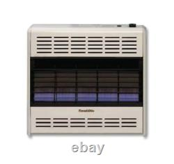 HEARTHRITE / EMPIRE HB30MN Blue Flame Vent Free Heater Natural Gas 30,000BTU
