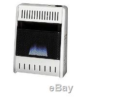 HEATER / STOVE Propane & Natural Gas Fired Vent Free Incl Thermo 10,000 BTU